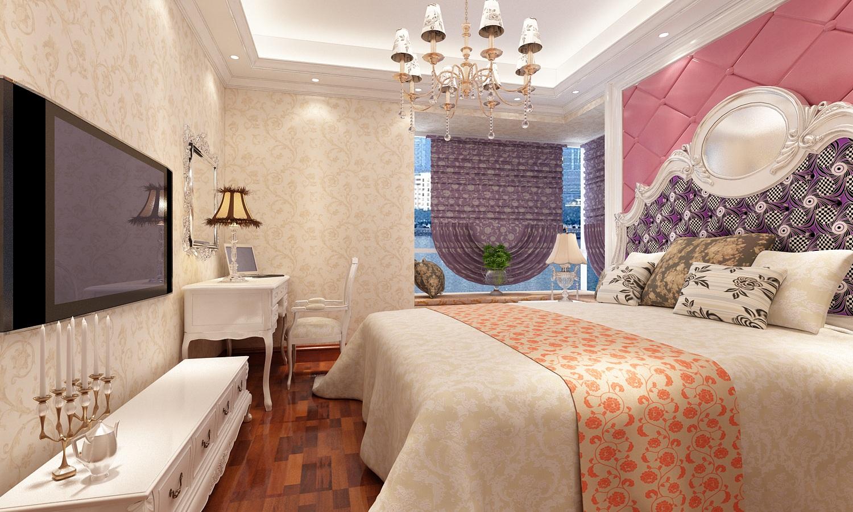欧式卧室壁纸装修效果图欣赏